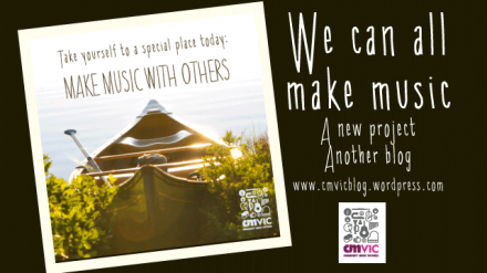 We can all make music - a new blog